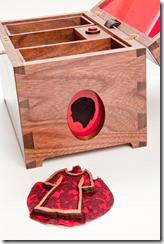 Jayne Wallace 'Jewellery Box, My Dresses Brooch', 2010, photo by Bill Shaylor
