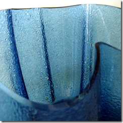 Resulting texture in bowls